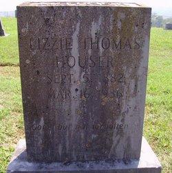 "Elizabeth ""Lizzie"" <I>Thomas</I> Houser"