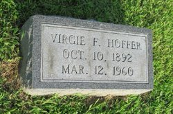 Virgie F <I>White</I> Hoffer