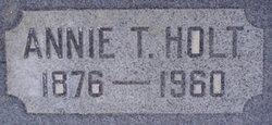 Annie <I>Thurgood</I> Holt