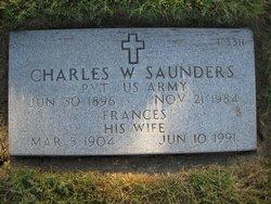 Charles W Saunders