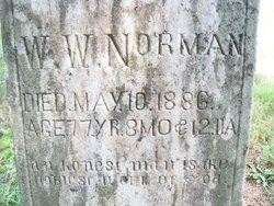Rev William Welsh Norman