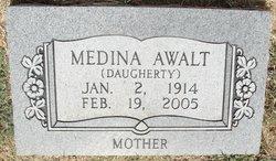 "Medina Lillian ""Jerry"" <I>Daugherty</I> Awalt"