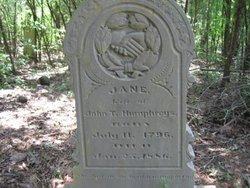 Jane Elizabeth <I>Verner</I> Humphreys