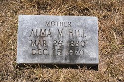 Alma M Hill