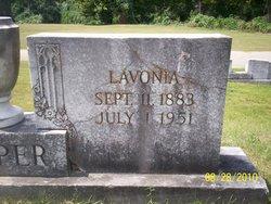 "Lavonia ""Vannie"" <I>Murphy</I> Cooper"