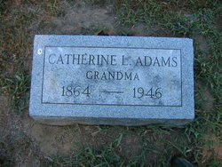 Catherine <I>Lacey</I> Adams