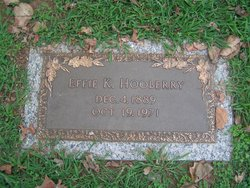 Effie K. Hooberry