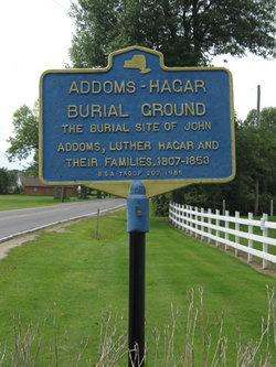 Addoms Hagar Cemetery