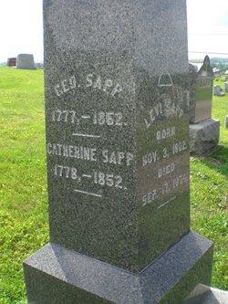 Catherine <I>Arnold</I> Sapp