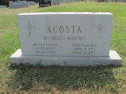 Virginia <I>Baker</I> Acosta