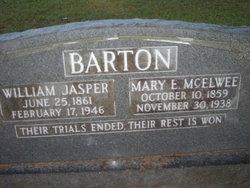 Mary E. <I>McElwee</I> Barton