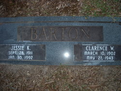 Jessie Mae <I>Keith</I> Barton