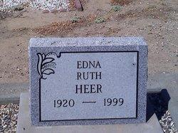 Edna Ruth <I>Langenwalter</I> Heer
