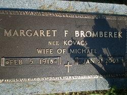 Margaret F. <I>Kovacs</I> Bromberek