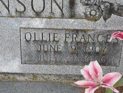 Ollie Frances <I>Bertling</I> Hollan