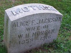 Alice F <I>Jackson</I> Morgan