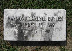 Raymond Carlyle Boyles