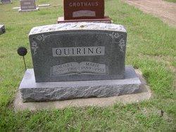 Marie J <I>Schroeder</I> Quiring