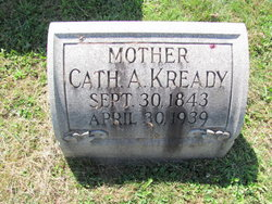 Catherine A. <I>Fry</I> Kready