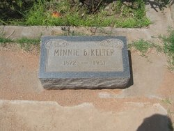 Minnie Belle <I>Thomas</I> Kelter