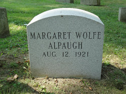 Margaret <I>Wolfe</I> Alpaugh