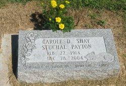 Carole D <I>Shay</I> Payton