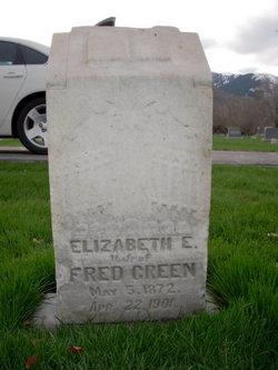 Elizabeth Emeline <I>King</I> Green