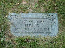 Carolyn Louise Keisling