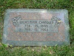 Wilhelmina Marie <I>Steinke</I> Chandler