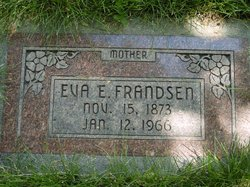 Eva Christine <I>Erickson</I> Frandsen