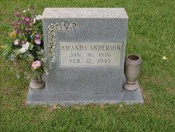 Amanda Jane <I>Hanks</I> Anderson