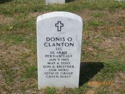 "Donis Owen ""Ike"" Clanton"