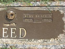 Ruby Mary <I>Brackin</I> Reed