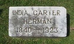 India <I>Carter</I> Herman