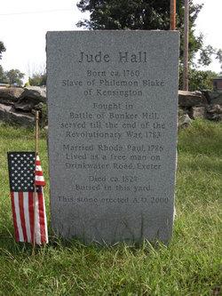 PVT Jude Hall