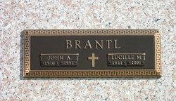 Lucille Margaret <I>Westrick</I> Brantl