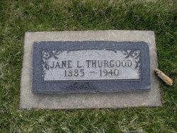 Jane <I>Lloyd</I> Thurgood