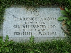 Clarence P Roth