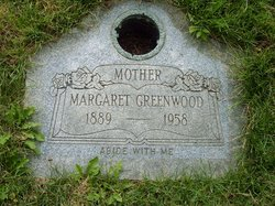 Margaret Ann <I>Brooks</I> Greenwood