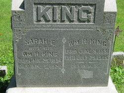 Sarah Elizabeth <I>McFall</I> King