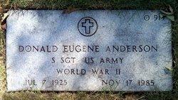 Donald Eugene Anderson