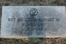 Roy Milton Barnhart, Sr