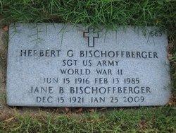 Herbert G Bischoffberger