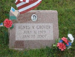 "Agnes V ""Sgt Cookie"" Grover"