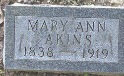 Mary Ann Akins