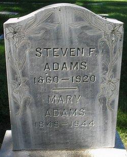 Mary <I>Jarvis</I> Adams