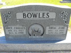 Orval Judd Bowles