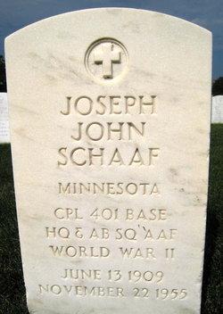 Joseph John Schaaf