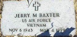 "Jerald Mccuin ""Jerry"" Baxter"