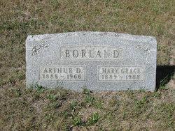 Mary Grace <I>Currey</I> Borland